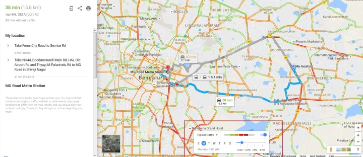 Traffic Map In My Area.Google Maps Traffic Route Predictions Thoughts As Is